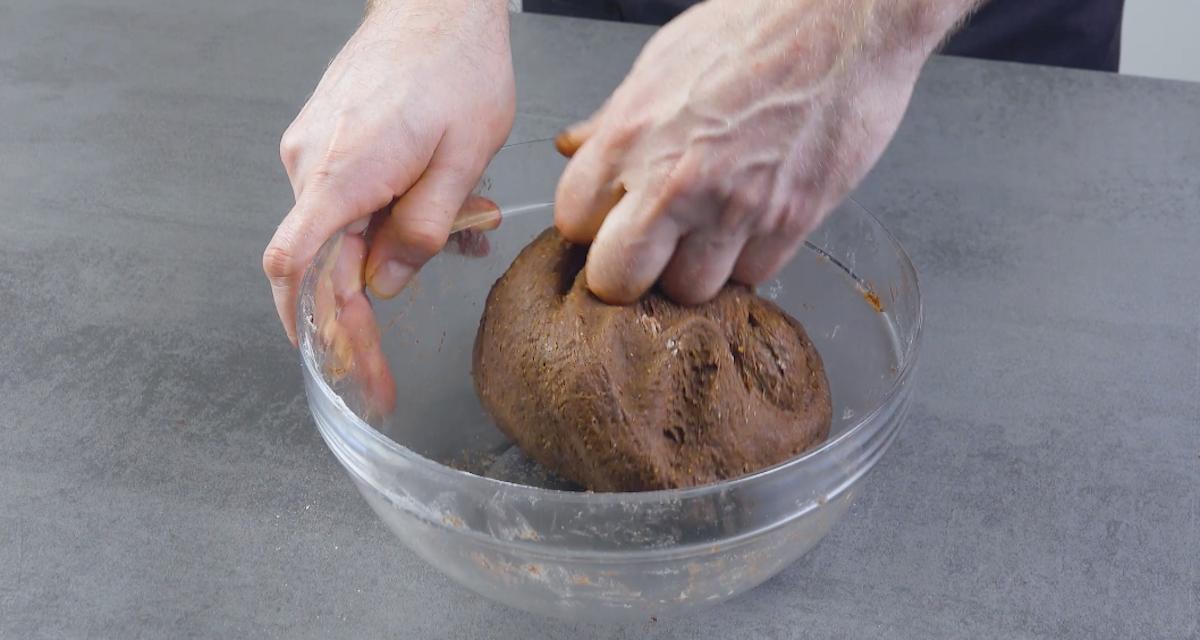 Impasto del plumcake al cioccolato