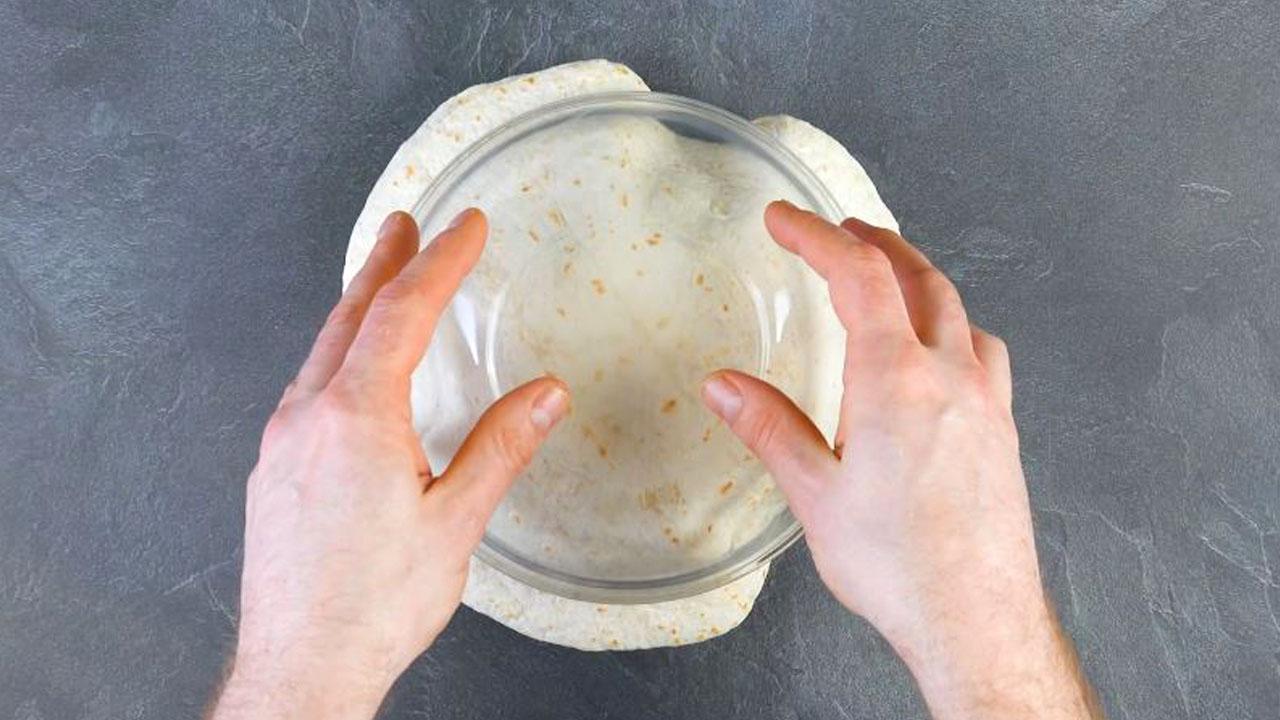 Tortillas nella ciotola