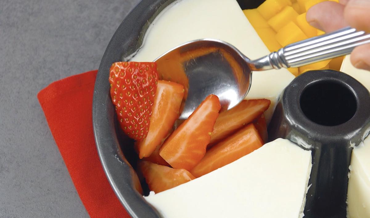 Frutta fresca affettata
