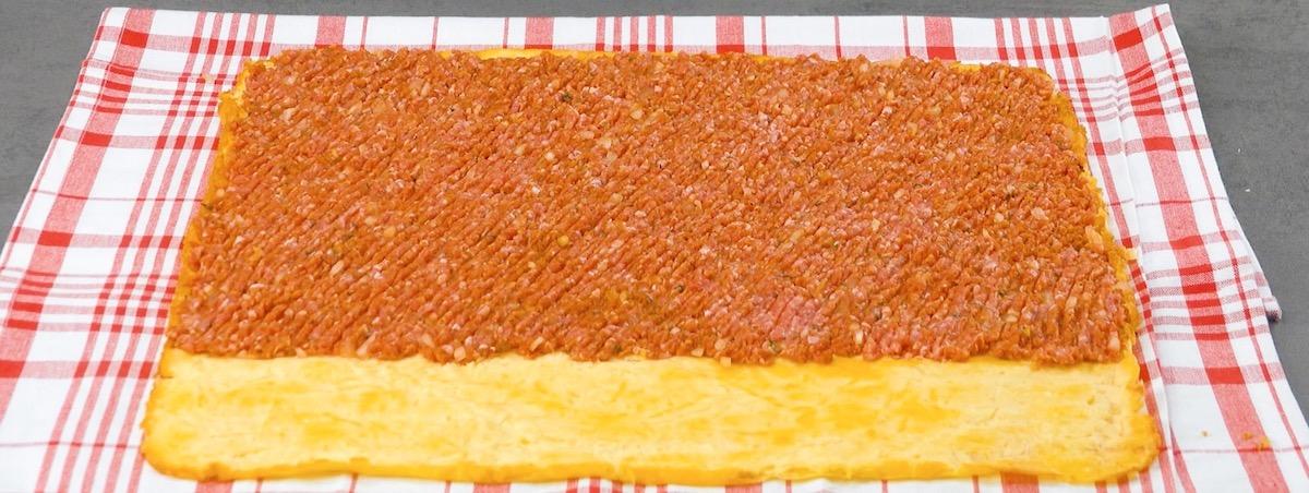 Frittata al forno con carne macinata