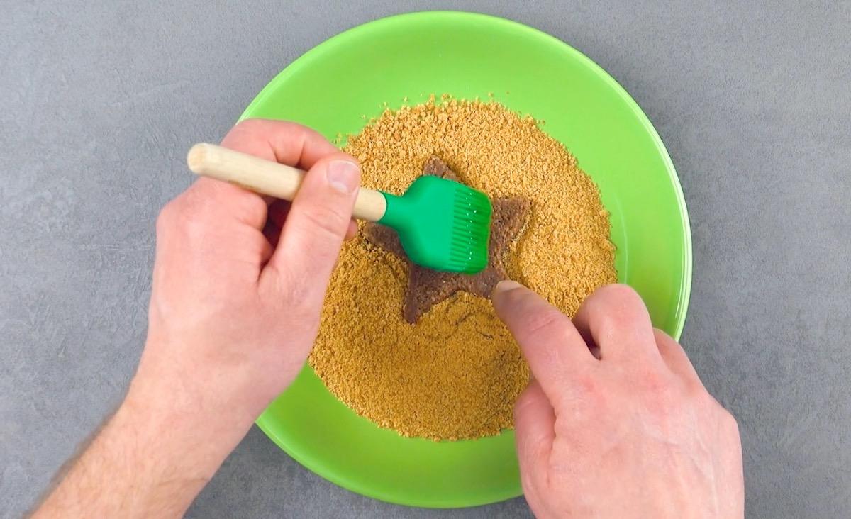 Biscotti integrali sbriciolati
