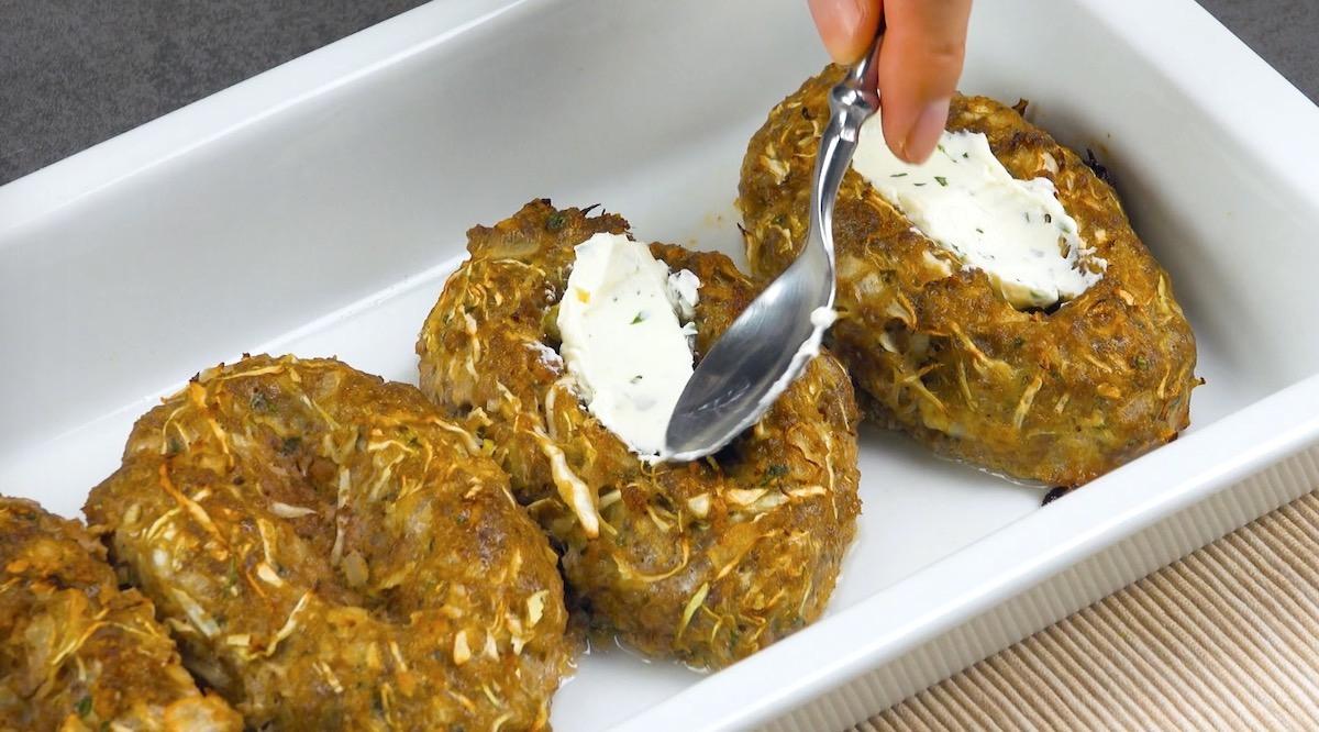 Strato di formaggio spalambile