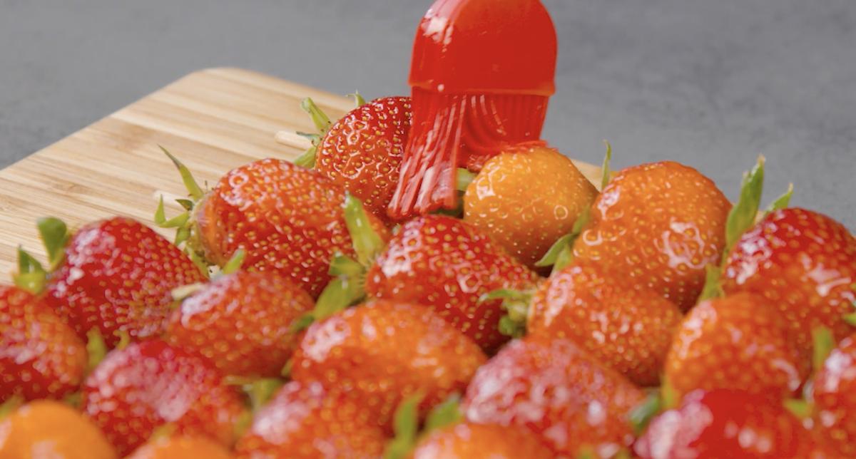 Spiedini di fragole