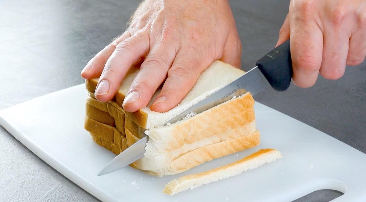 Pancarrè senza crosta